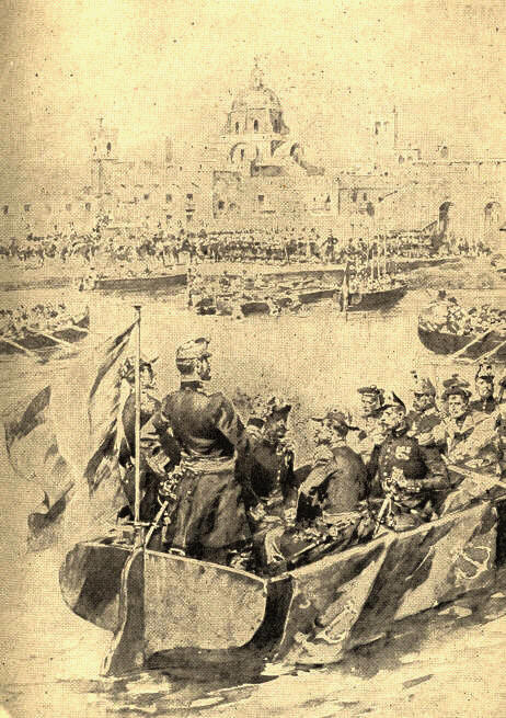 The Landing of the Allied Troops at Vera Cruz